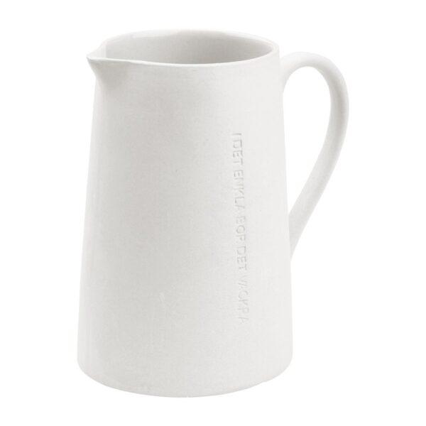Ernst- Mjölkkanna vit