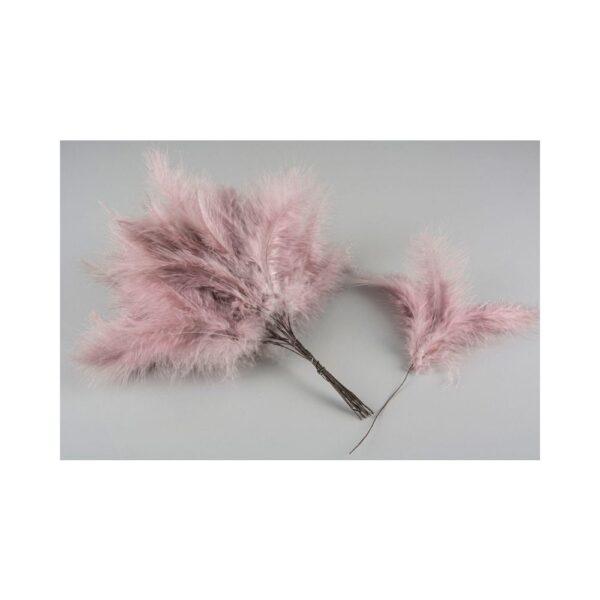 Fjäder rosa vippor