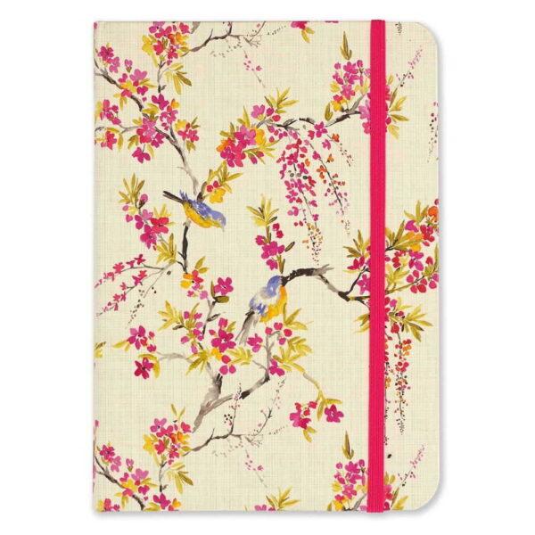 Anteckningsbok Blossoms & bluebirds journal