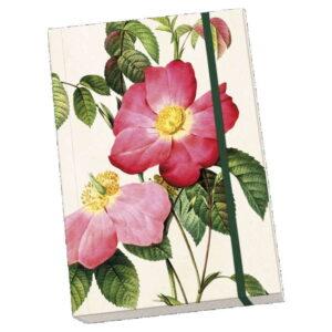 Anteckningsbok rosor mjuk pärm