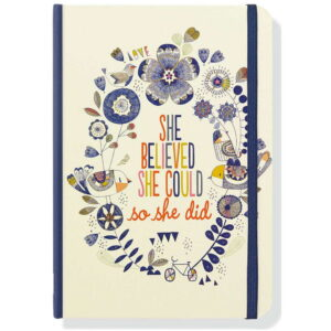 Anteckningsbok She believed she could journal