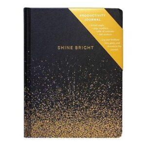 Anteckningsbok Shine bright bullet journal