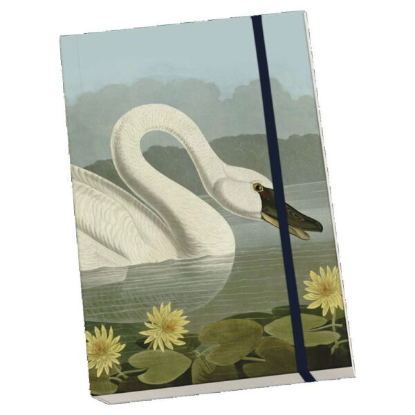 Anteckningsbok svan mjuk pärm