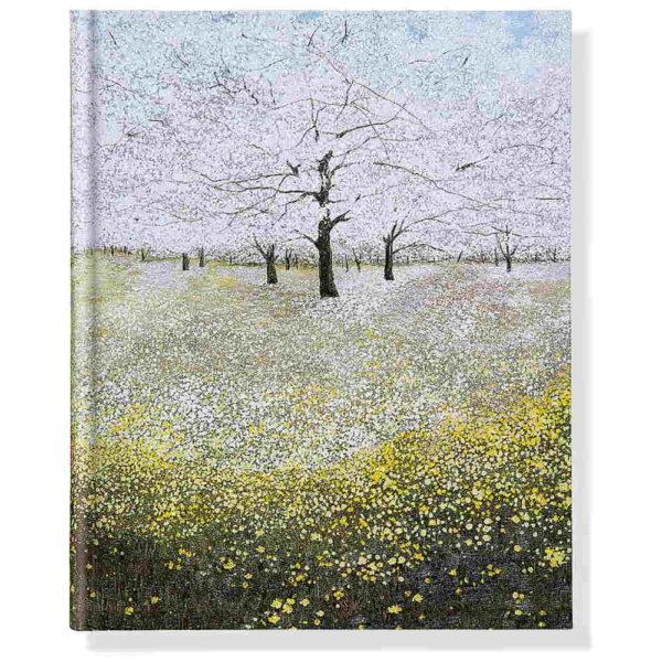 Anteckningsbok Trees in bloom