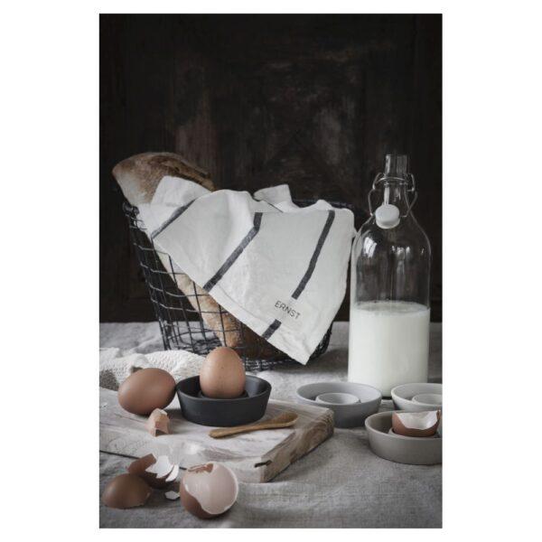 Äggkopp miljö vit