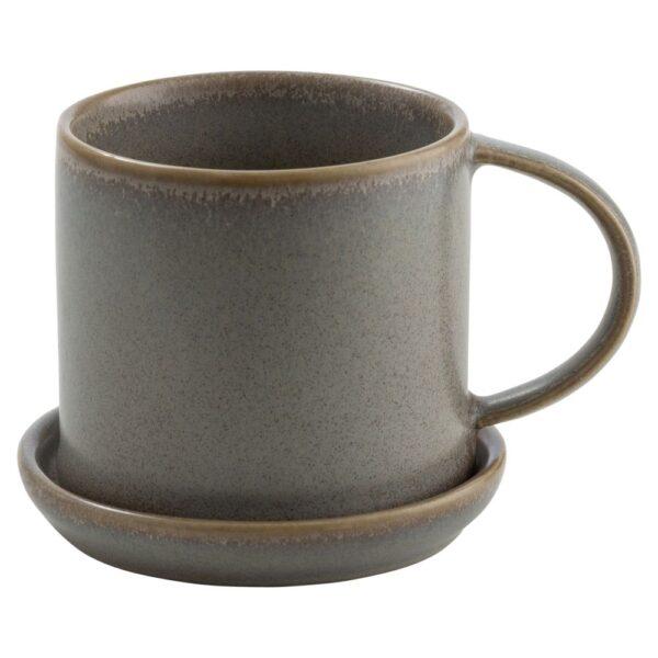 Ernst kaffekopp 7cm grå