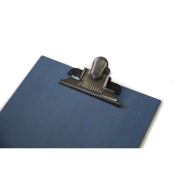 Clipboard A4 Blå detalj