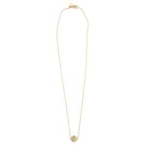 Hexagon Halsband Guld