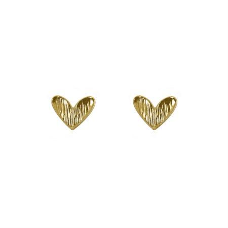Hjärta Örhänge Guld