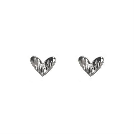 Hjärta Örhänge Silver