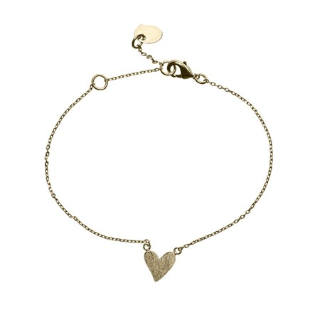 Hjärta Armband Guld