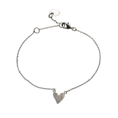 Hjärta Armband Silver
