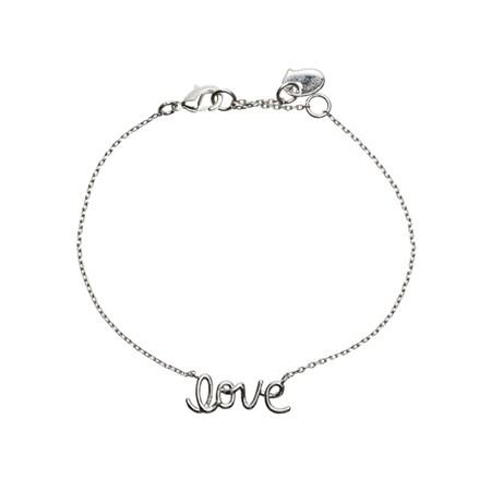 Love Armband Silver