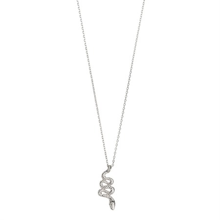 Orm Halsband Silver