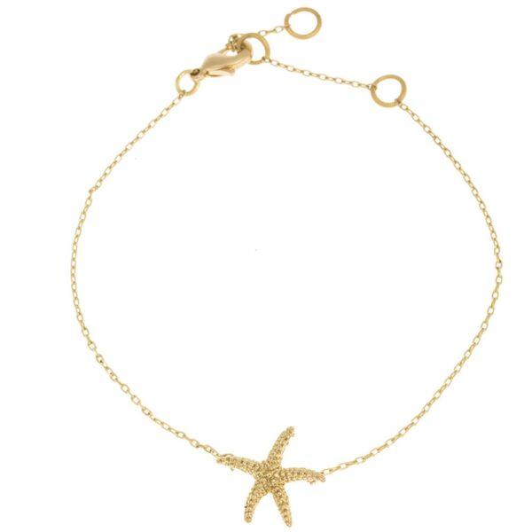 Sjöstjärna Armband Guld