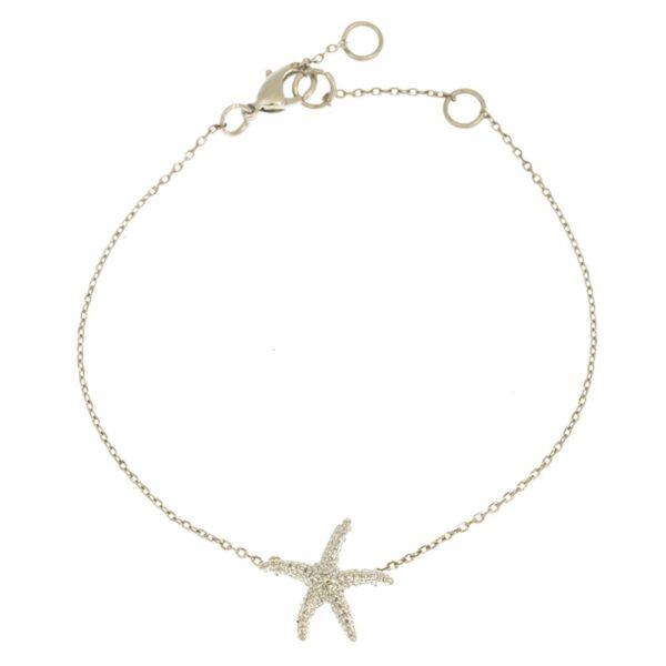 Sjöstjärna Armband Silver