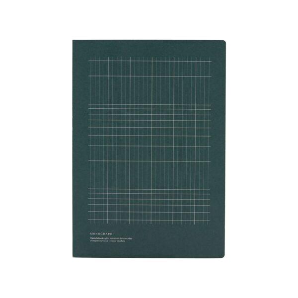 Anteckningsbok, Linjer, Gul/Blå 1