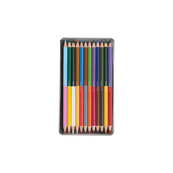 Färgpennor vässbara 12st