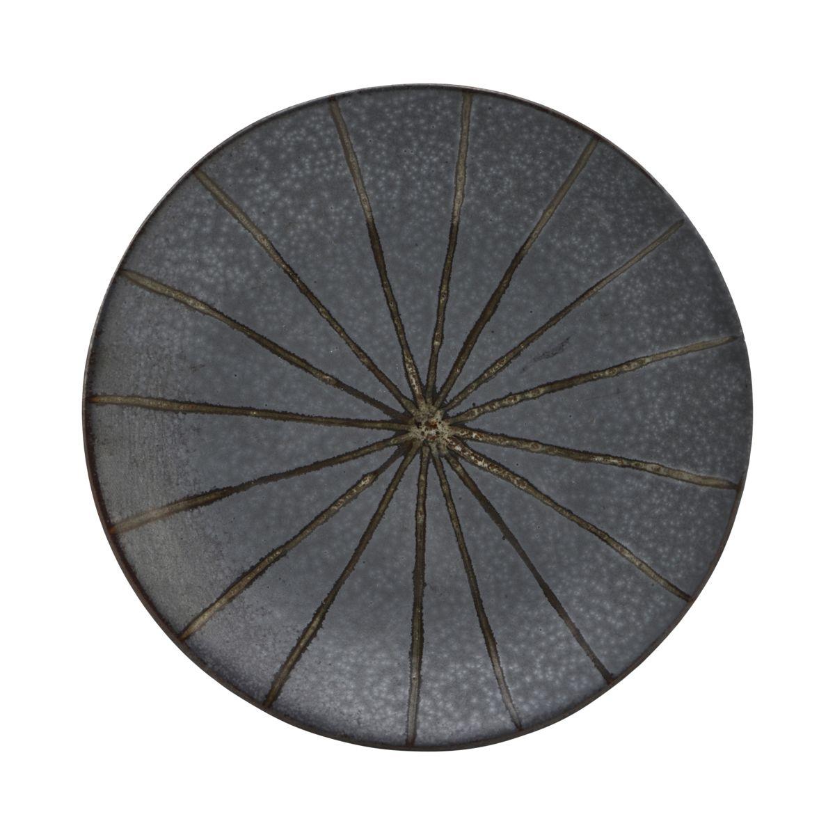 Tallrik, Suns, Mörkbrun -Matbordet