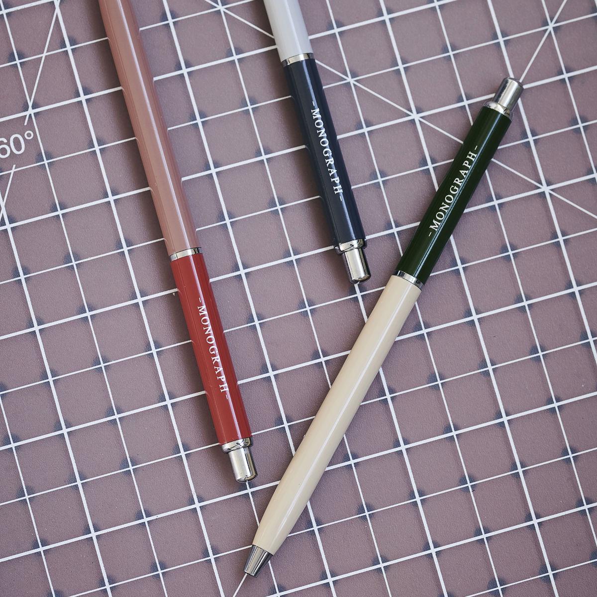 Bläckpenna m. svart bläck Push