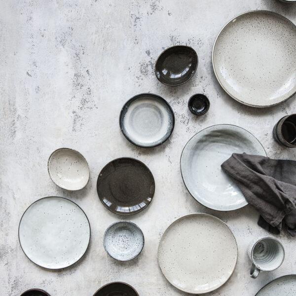 Skål Rustic Grå/Blå -Matbordet 4