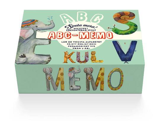 Memoryspel som lär barn ABC