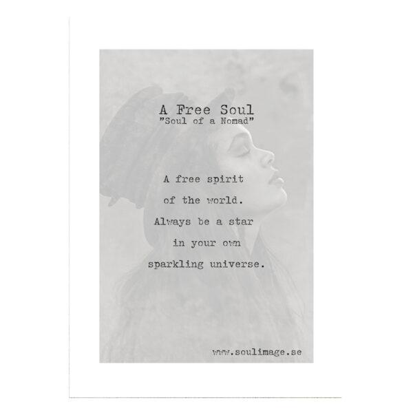 A-free-soul-budskap