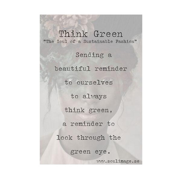 Think-Green-budskap