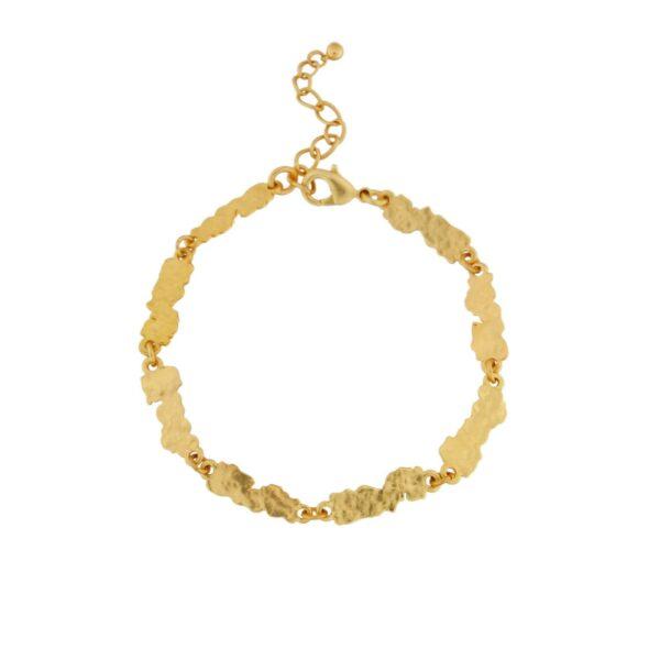 Armband i guldplätering