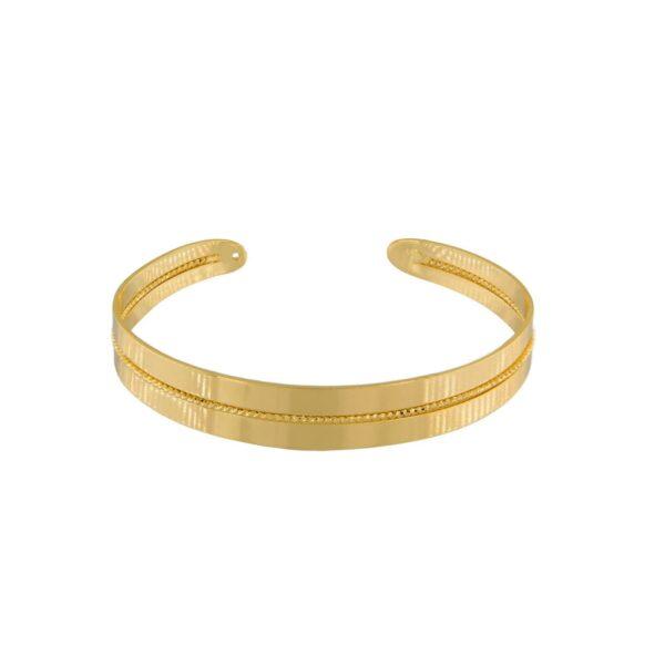 Armband Indian i guldplätering