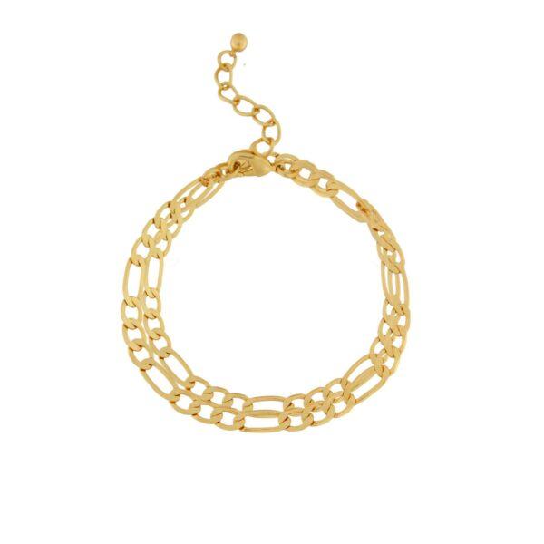 Armband Isolde Figaro Guld