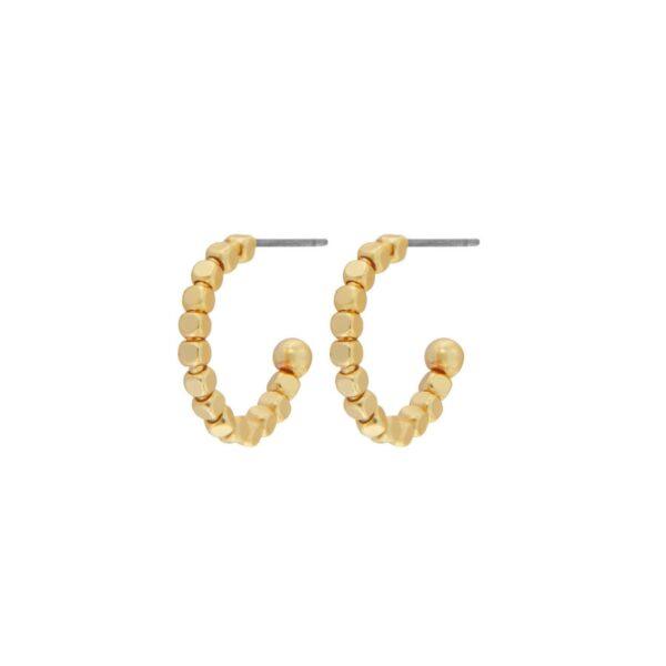 Örhängen Audrey Mini Hoop Guld