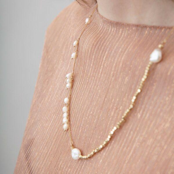 Halsband med pärlor Audrey