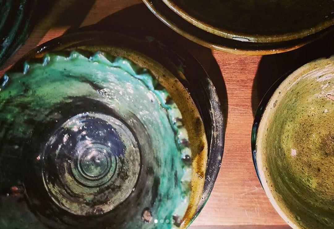 Keramik från en nomadfamilj