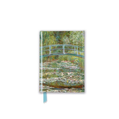 Claude Monet Bridge Over a Pond of Water-Lilies (Foiled Pocket Journal)