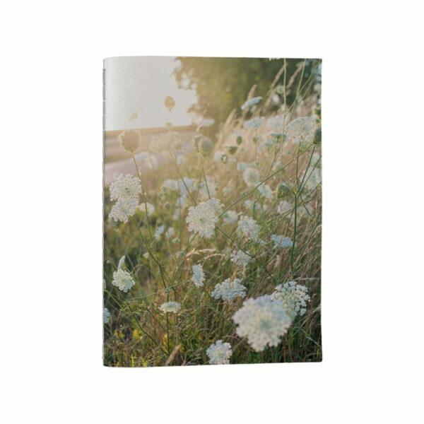 Anteckningsbok - Blomsteräng