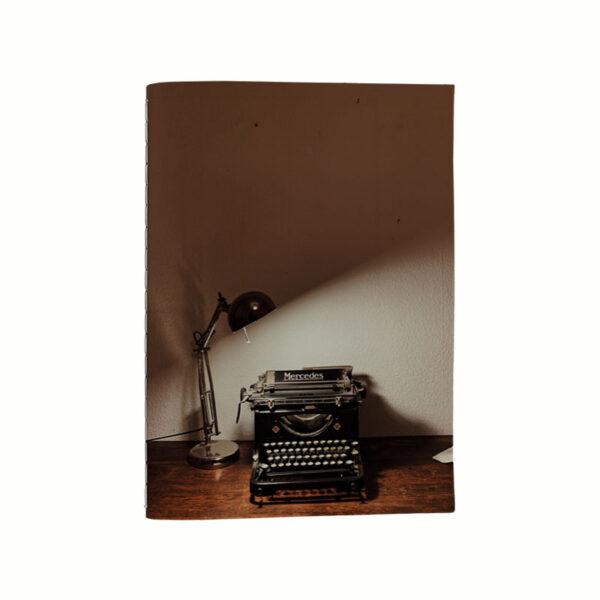 Anteckningsbok-skrivmaskin