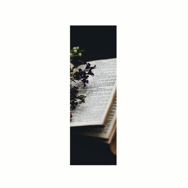 Bokmärke - Blomsterbok
