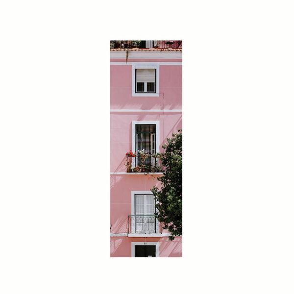 Bokmärke - Havanna med ett rosa hus