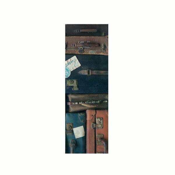 Bokmärke - På Väg med massor av resväskor