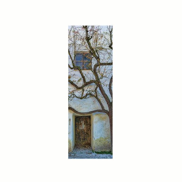 Bokmärke - Provence med motiv av ett vackert vitt hus i Provence