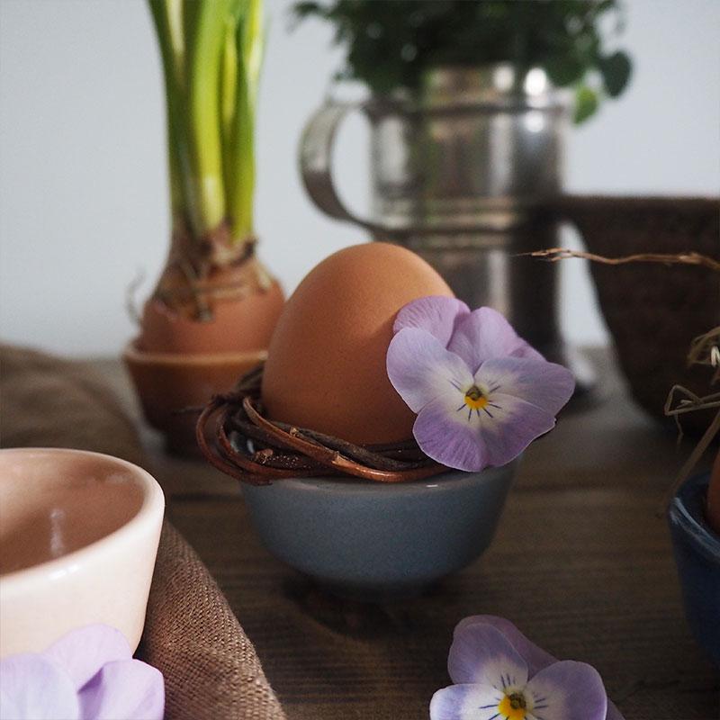 Påskpyssel med äggkoppar