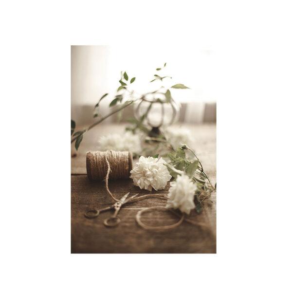 Kort Blomsterbindning