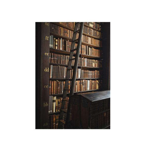 Kort bokvägg