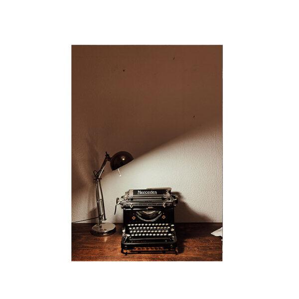 Kort skrivmaskin