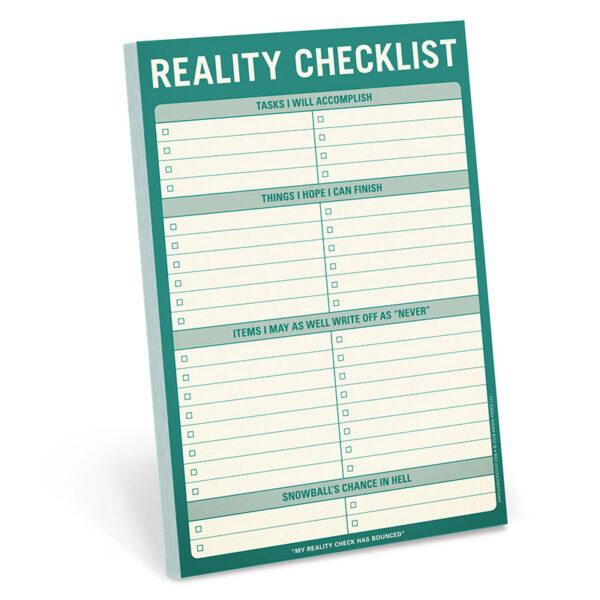 Reality check list block med smart lista
