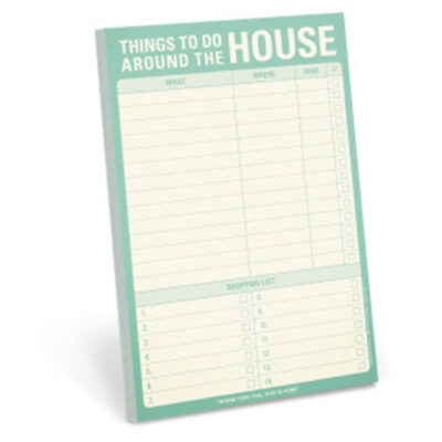 To do list - Things To Do Around The House lista