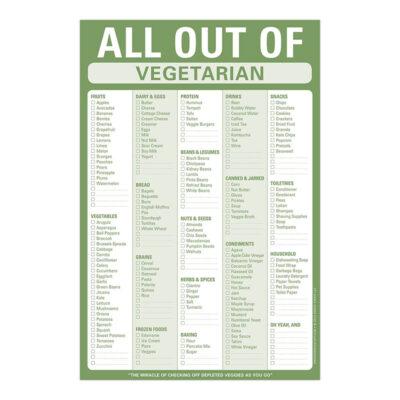To do list inköpslista för grönsaker
