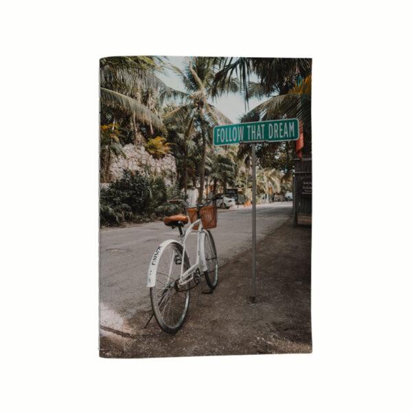 Anteckningsbok - Cykel