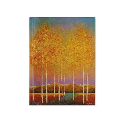 Anteckningsbok - Moonlit Aspens